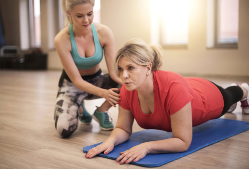 Personal training is good idea for achieve good shape